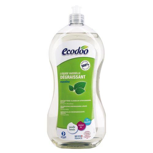 Detergent Bio Vase Ultradegresant cu Oțet și Mentă, 1000ml | Ecodoo