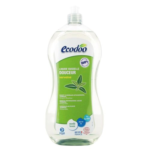 Detergent Bio Vase cu Aloe Vera și Verbena, 1000ml   Ecodoo