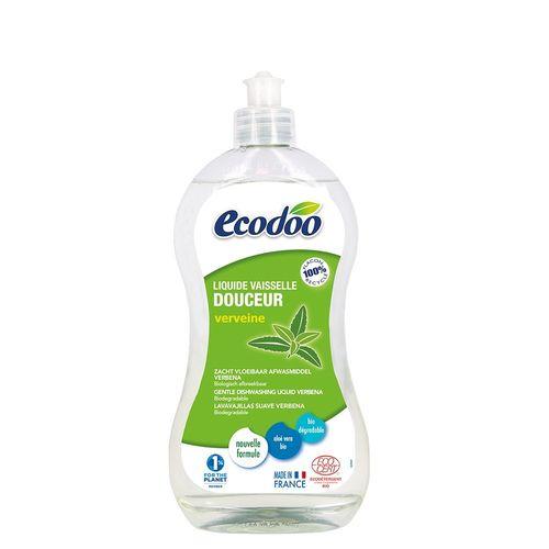 Detergent Bio Vase cu Aloe Vera și Verbena, 500ml   Ecodoo