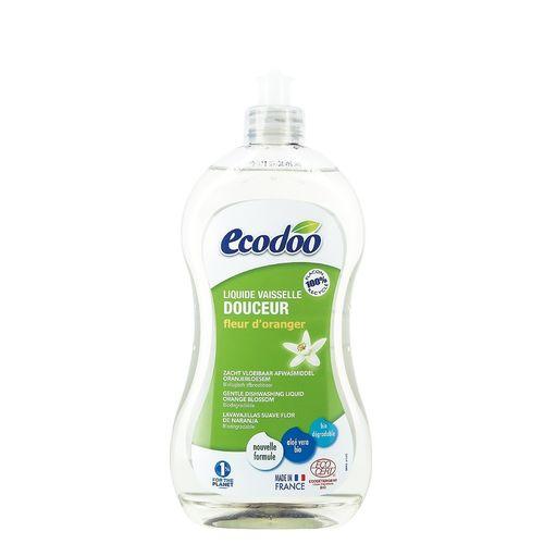 Detergent Bio Vase cu Aloe Vera și Flori de Portocal, 500ml   Ecodoo