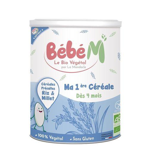 Cereale Pentru Bebeluși - de la 4 luni, 400g   La Mandorle
