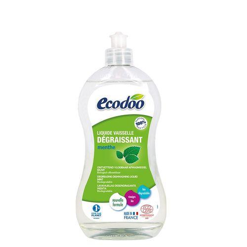 Detergent Bio Vase Ultradegresant cu Oțet și Mentă, 500ml   Ecodoo