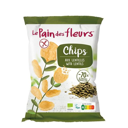 Chipsuri de Linte, 50g   Le Pain des Fleurs