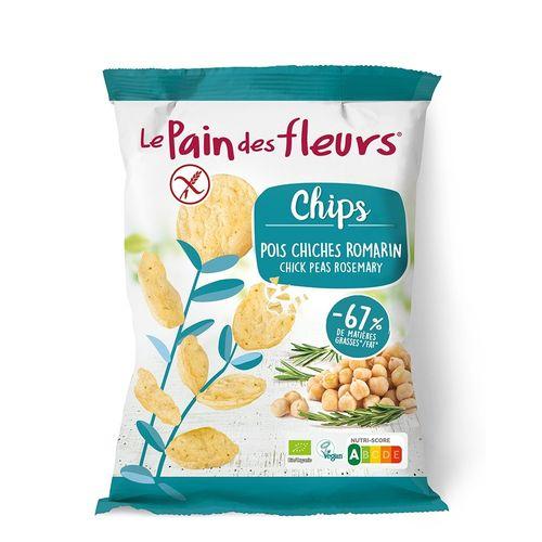 Chipsuri de Năut cu Rozmarin, 50g | Le Pain des Fleurs