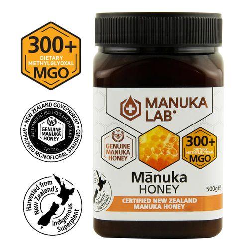 Miere de Manuka, MGO 300+ Noua Zeelandă Naturală, 500g | MANUKA LAB