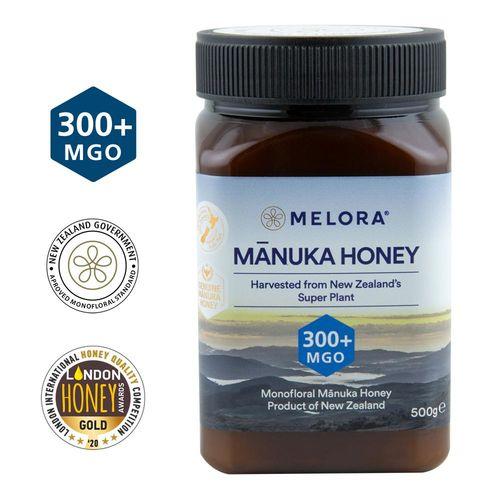 Miere de Manuka, MGO 300+ Noua Zeelandă Naturală, 500 g | MELORA