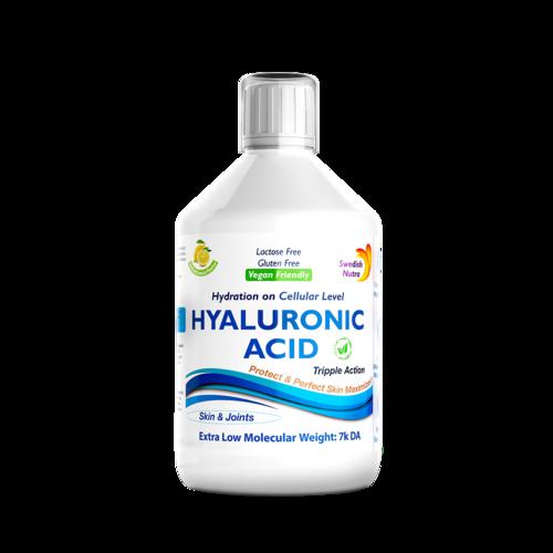 Acid Hialuronic Lichid 100Mg Super Concentrat, 500 ml | Swedish Nutra