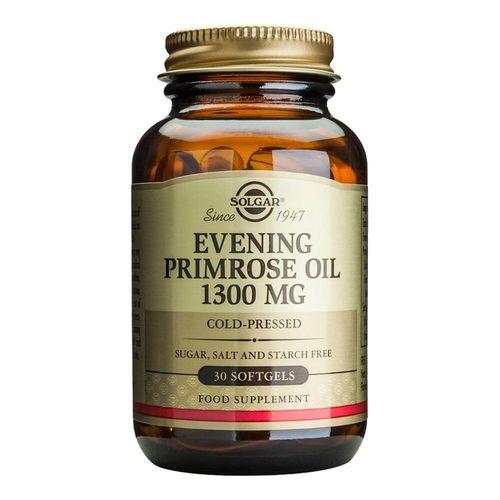 Acizi grași Evening Primrose Oil (Ulei de Luminița nopții) 1300mg, 30 capsule moi | Solgar