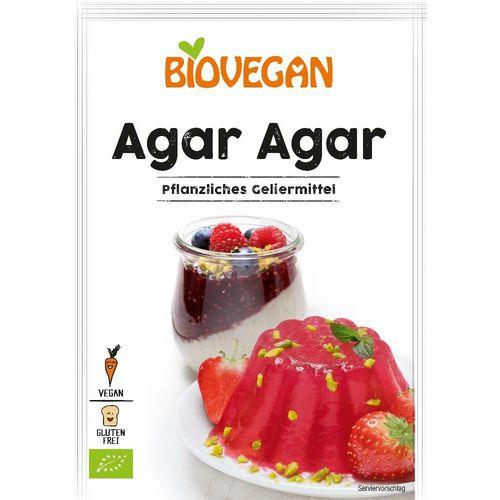 Agar Agar eco/bio, fără gluten, 30g | Biovegan