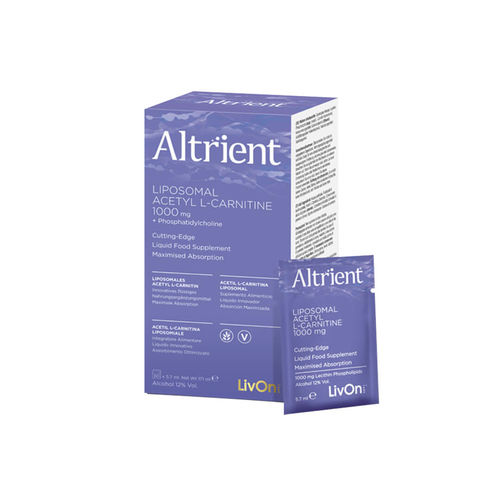 Altrient Acetyl L-Carnitine Liposomal, 30 pliculețe   LivOn Labs