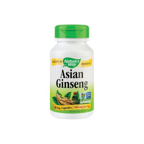 Asian Ginseng 560mg ,50 capsule vegetale | Secom