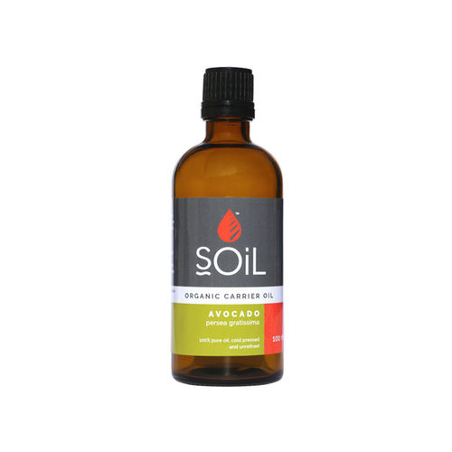 Ulei Bază Avocado Ecologic/Bio, 100ml | SOiL