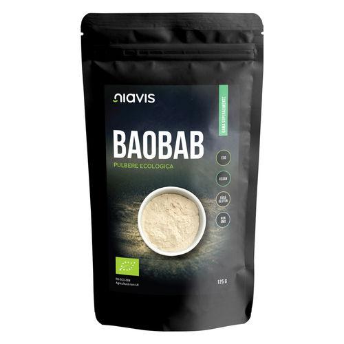 Baobab Pulbere Ecologică/Bio 125g   Niavis