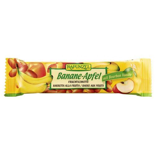 Baton de Fructe Banană și Măr eco/bio, 40g | Rapunzel