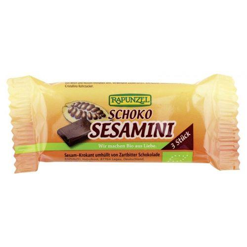 Batoane de Susan cu ciocolată eco/bio, 27g | Rapunzel