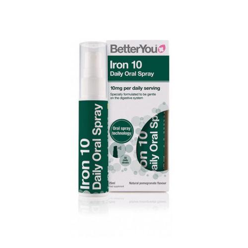 Iron 10 Oral Spray, 25ml | BetterYou