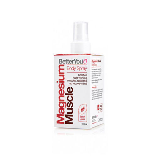 Magnesium Muscle Body Spray, 100ml | BetterYou