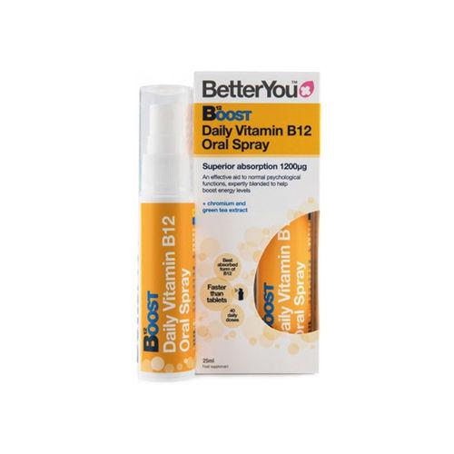 Boost B12 Oral Spray, 25ml   BetterYou