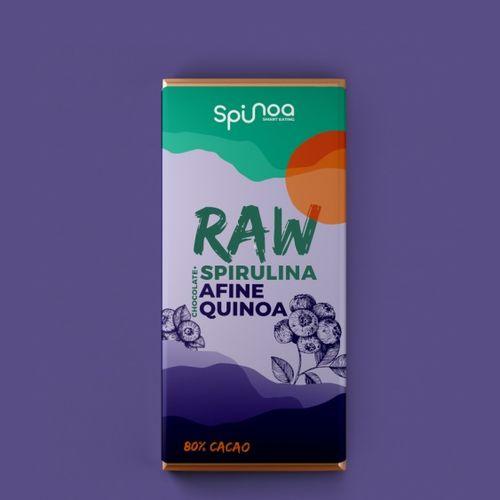 Spiru'choco cu Afine și Quinoa, 35g   Spinoa