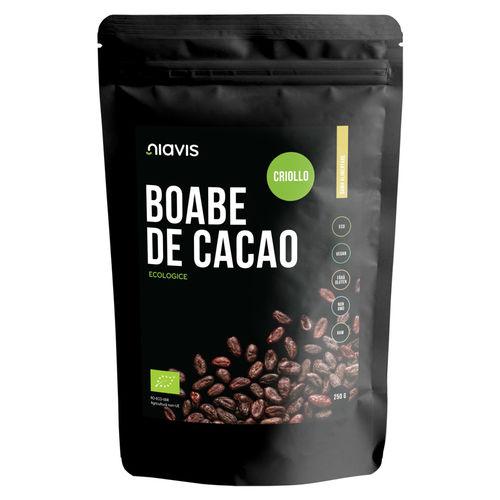 Boabe de Cacao întregi Ecologice/Bio 250g I Niavis