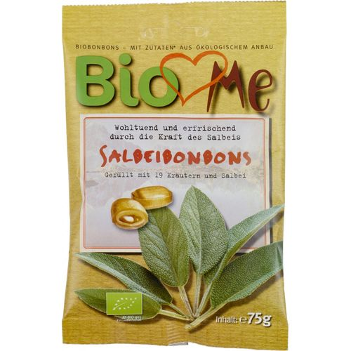 Bomboane cu Salvie eco/bio, 75g | BIO Loves Me