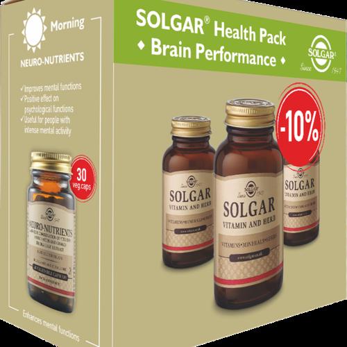 Solgar Health Pack Brain Performance