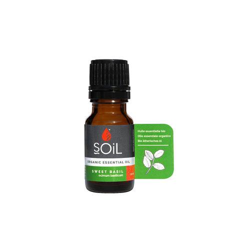 Ulei Esențial de Busuioc (Basil) Ecologic/Bio, 10ml | SOiL
