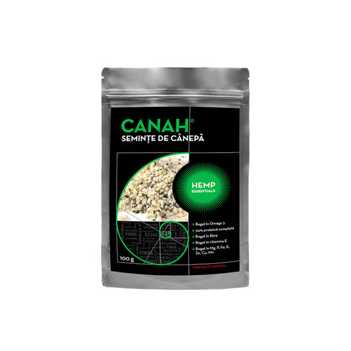 Semințe Decorticate de Cânepă | Canah