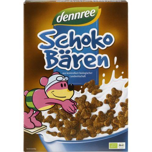 Cereale ursuleși de ciocolată eco/bio, 250g | Dennree