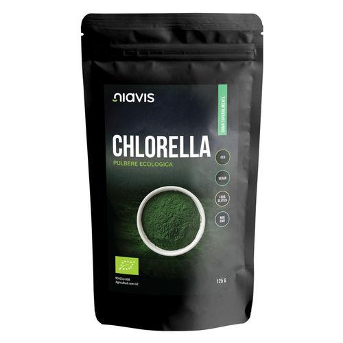 Chlorella Pulbere Ecologica/Bio 125g I Niavis