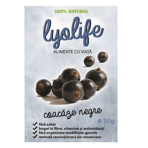Coacăze Negre - Fructe Liofilizate, 30g | LyoLife