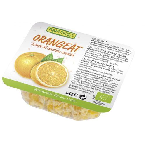 Coajă de Portocală Fără Zahăr, 100g | Rapunzel