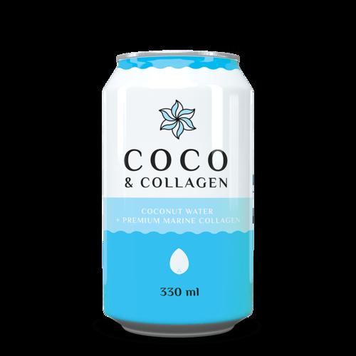 Coco Colagen - Apă de Cocos Naturală cu Colagen, 330ml   Diet-Food
