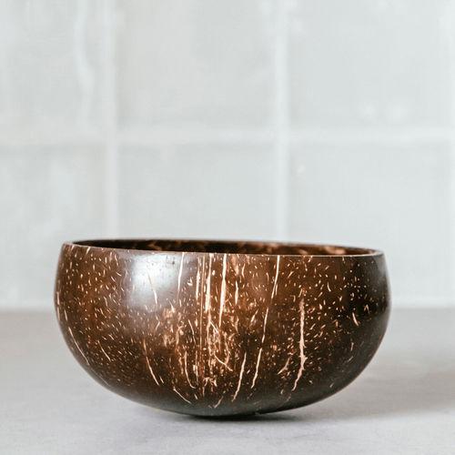Set 2 Boluri din nucă de cocos ecologică   Coconut Bowls
