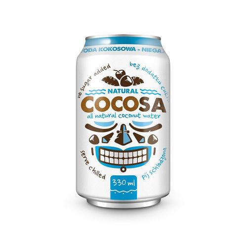 Apă de Cocos Naturală Cocosa, 330ml | Diet-Food