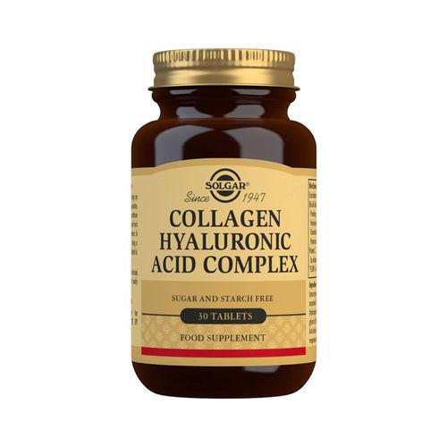 Collagen Hyaluronic Acid 120mg 30 tablete (Colagen și Acid Hialuronic)   Solgar