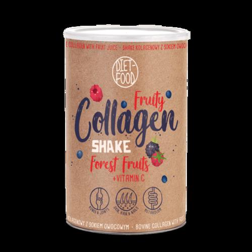 Fruity Collagen Shake - Fructe de Pădure, 300g | Diet-Food