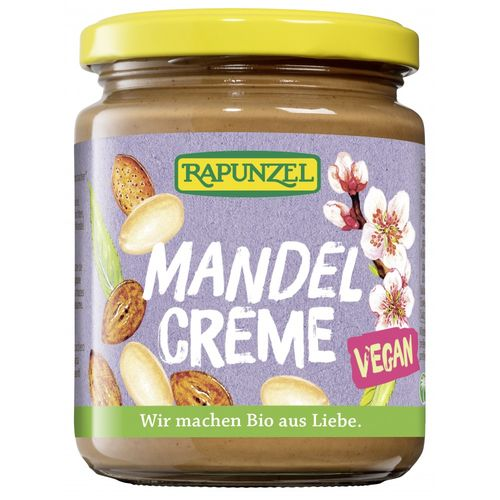 Cremă de Migdale Vegan, 250g | Rapunzel