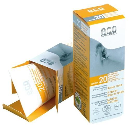 Cremă Bio Protecție Solară FPS20, 75ml | Eco Cosmetics