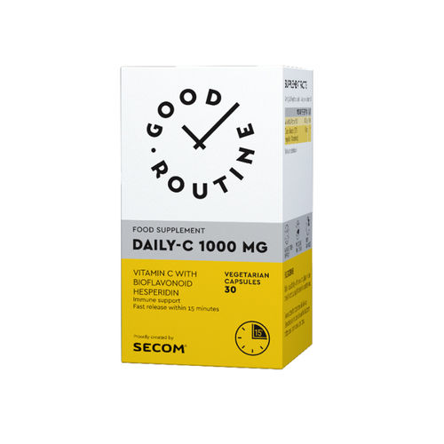 Daily-C 1000 mg Good Routine, 30 capsule vegetale | Secom