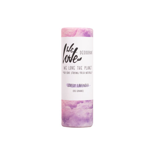 Deodorant Natural Stick - Lovely Lavender, 65g | We Love The Planet