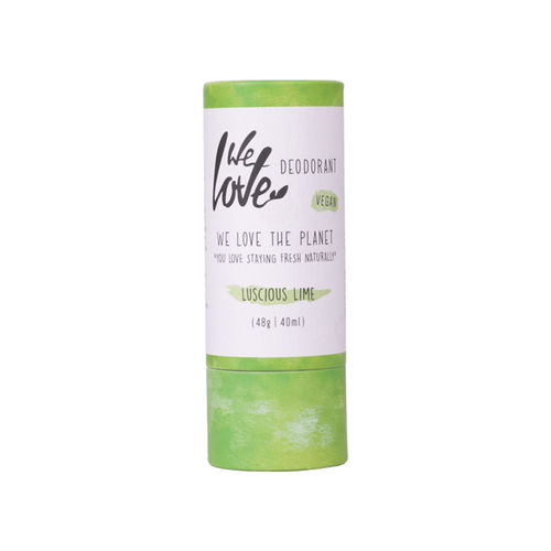 Deodorant Natural Stick - Luscious Lime - Vegan, 48g | We Love The Planet