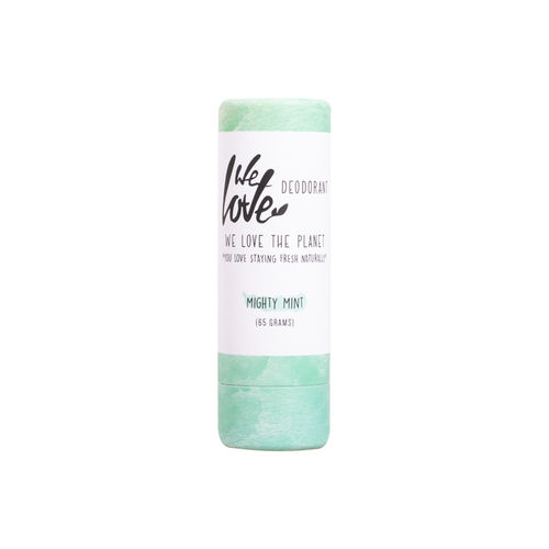 Deodorant Natural Stick - Mighty Mint, 65g | We Love The Planet