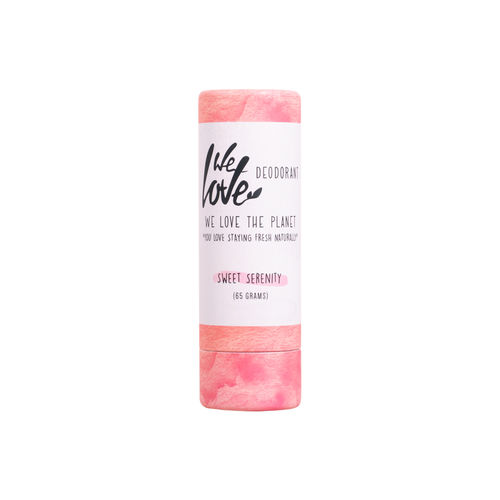 Deodorant Natural Stick  - Sweet Serenity, 65g | We Love The Planet
