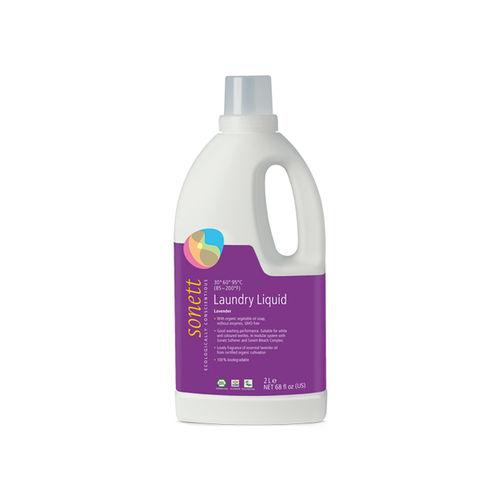 Detergent Ecologic Lichid Pentru Rufe Albe și Colorate cu Lavandă, 2000ml | Sonett