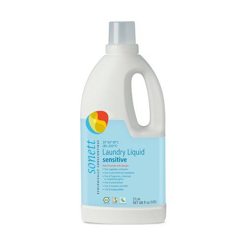 Detergent Ecologic Pentru Rufe Albe și Colorate Neutru Sensitive, 2000ml | Sonett