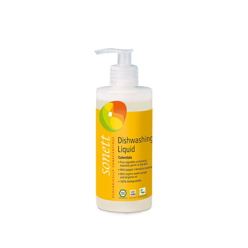 Detergent Ecologic Pentru Spălat Vase - Gălbenele, 300ml | Sonett