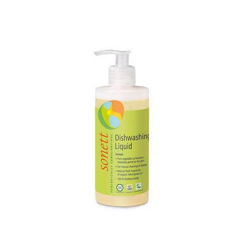 Detergent Ecologic Pentru Spălat Vase - Lămâie, 300ml | Sonett