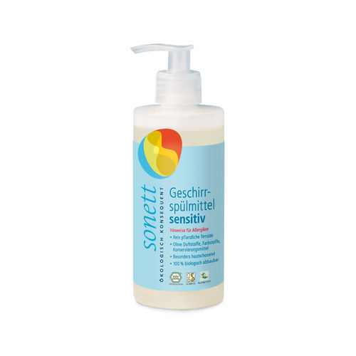 Detergent Ecologic Pentru Spălat Vase Neutru Sensitive, 300ml | Sonett
