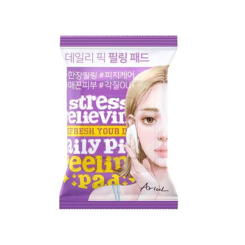Dischete Exfoliante 2în1 Ariul Stress Relieving Daily Pick Peeling, Exfolierea Delicată a Tenului, 30 buc | Ariul